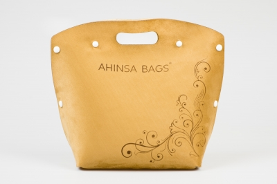Brown suede (Ahinsa bags®)