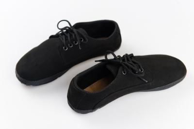 Black suede ultraflex (Barefoot professional)