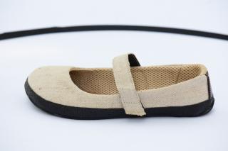 Linen barefoot ballerina (Sundara)