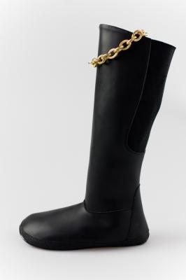Barefoot high boots with golden chain (Sundara)